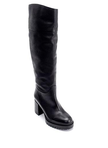 Derimod Kadın Çizme (20817) Casual Siyah